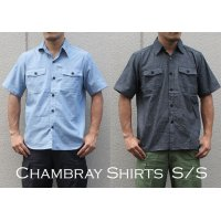 US TYPE CHAMBRAY SHIRTS S/S