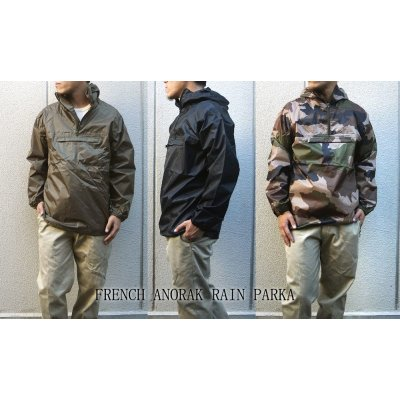 Photo1: FRENCH TYPE ANORAK PARKA