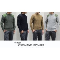 US TYPE COMMAND SWEATER