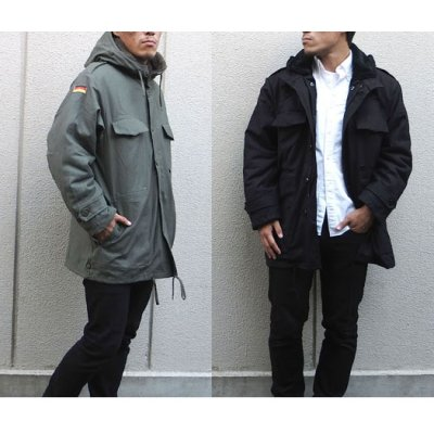 Photo2: GERMANY TYPE PARKA with LINER
