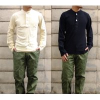 US TYPE HENLEY-NECK SHIRT