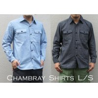 US TYPE CHAMBRAY SHIRTS L/S