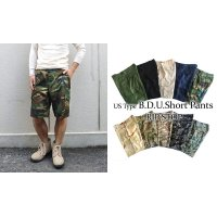 US TYPE B.D.U SHORT PANTS 【RIP STOP】