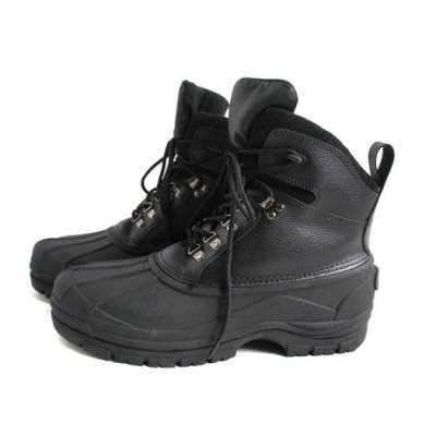 Photo2: BLACK-TAC HB WORK BOOTS