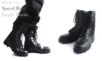 BLACK-TAC SPEED LACE JUNGLE BOOTS