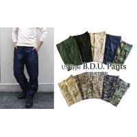 US TYPE B.D.U PANTS 【RIP STOP】