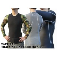 TACTICAL TRAINING UNDER SHIRTS L/S 3color