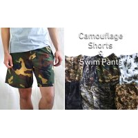CAMOUFLAGE SHORTS&SWIMPANTS