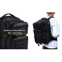 ASSAULT RUCKSACK (PU-COATING)