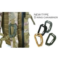 NEW-TYPE D RING CARABINER