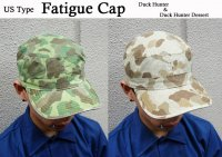 US TYPE FATIGUE CAP DUCK-HUNTER&DUCK-HUNTER DESERT