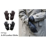 US TYPE A-10 LEATHER GLOVES